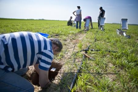 Cycles biogéochimiques et biodiversité sur les prairies et les grandes cultures